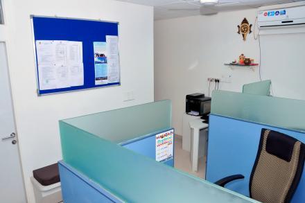 Notice Board at ASMTI